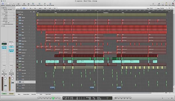 Miami Tribes Logic Pro Template