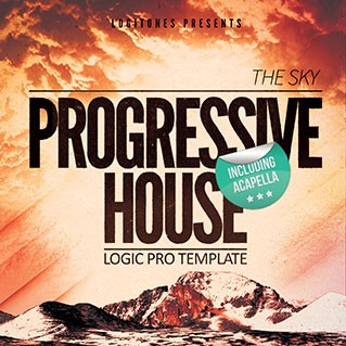The Sky - Progressive House Logic Pro 9 Template (Project